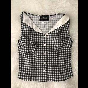 Gingham Collectif Top